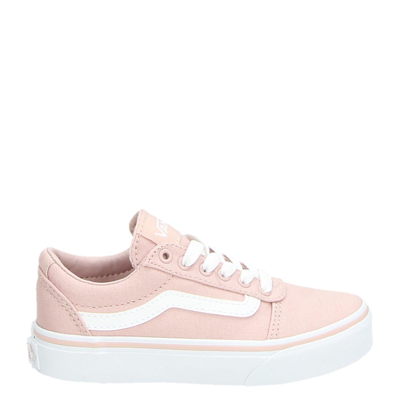 a70d88f562 Vans MY Ward jongens meisjes lage sneakers roze