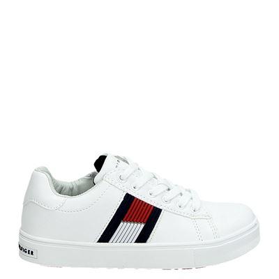 Tommy Hilfiger jongens/meisjes sneakers wit