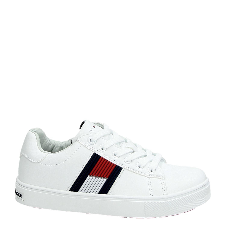 Tommy Hilfiger kindersneaker wit