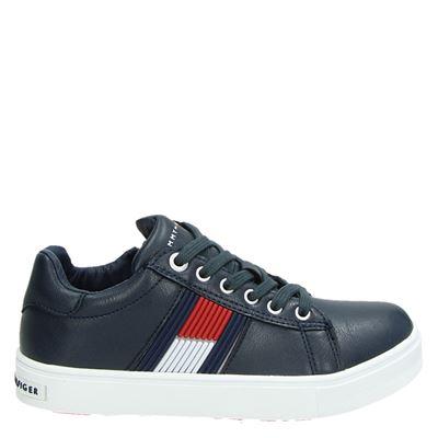Tommy Hilfiger jongens/meisjes sneakers blauw