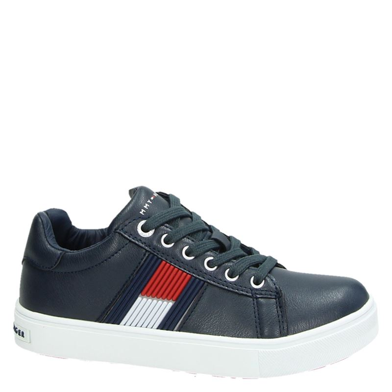 Tommy Hilfiger - Lage sneakers - Blauw