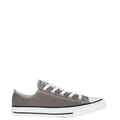 Converse jongens/meisjes lage sneakers grijs