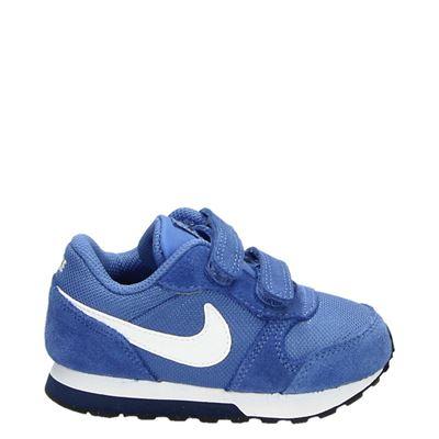 Nike jongens/meisjes klittenbandschoenen blauw