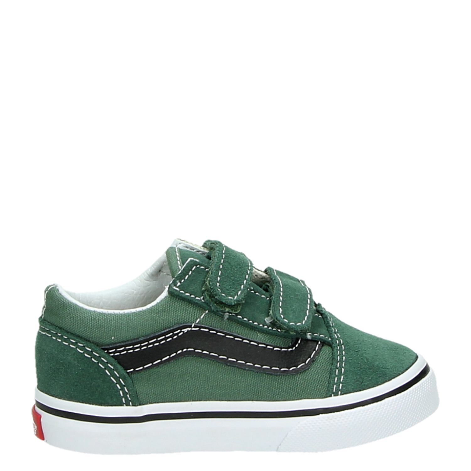 vans old school groen