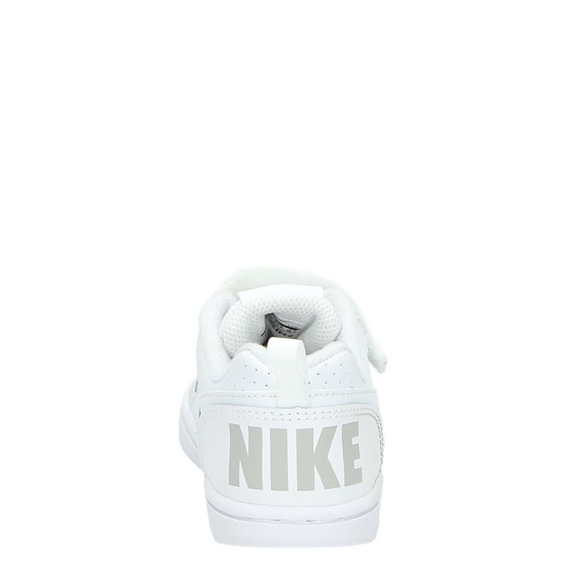 Nike Court Borough - Klittenbandschoenen - Wit
