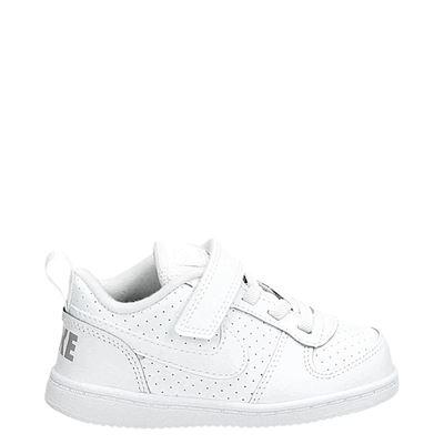Nike jongens/meisjes klittenbandschoenen wit