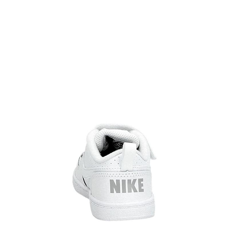 Nike Court Borough Toddle - Klittenbandschoenen - Wit