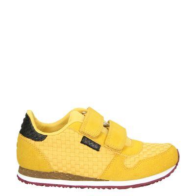Woden Wonder jongens/meisjes sneakers geel