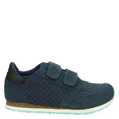 Woden Wonder jongens/meisjes sneakers blauw