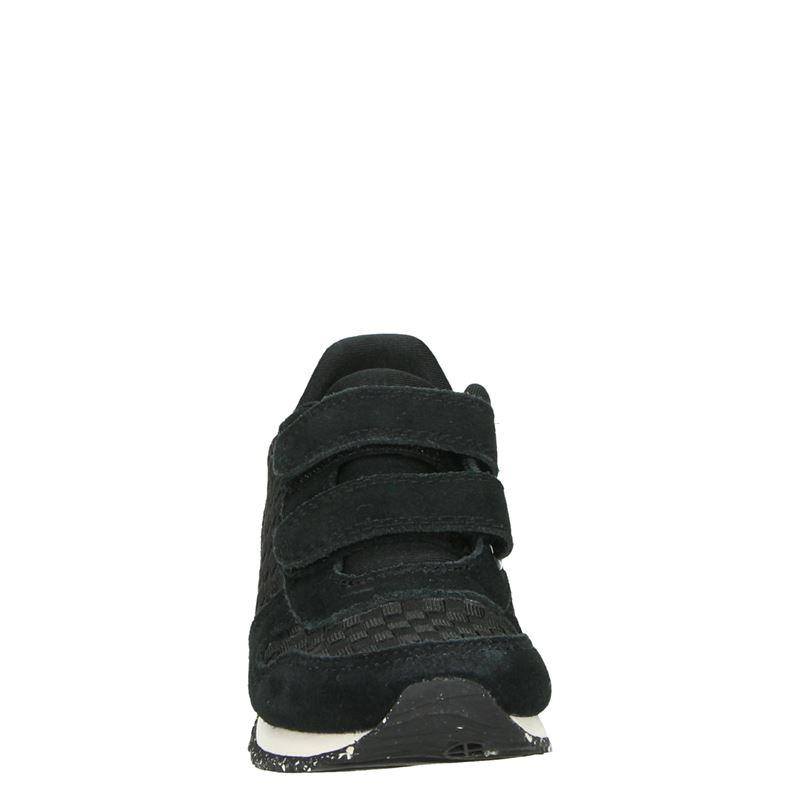 Woden Wonder Wonder - Klittenbandschoenen - Zwart