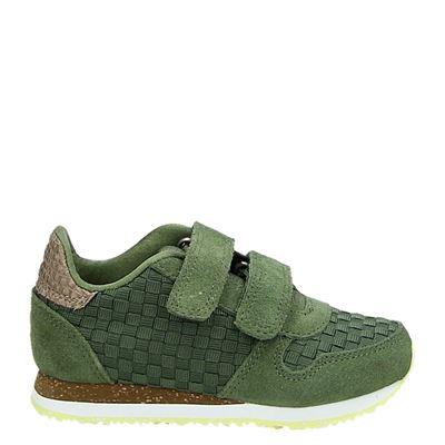 Woden Wonder jongens/meisjes sneakers groen