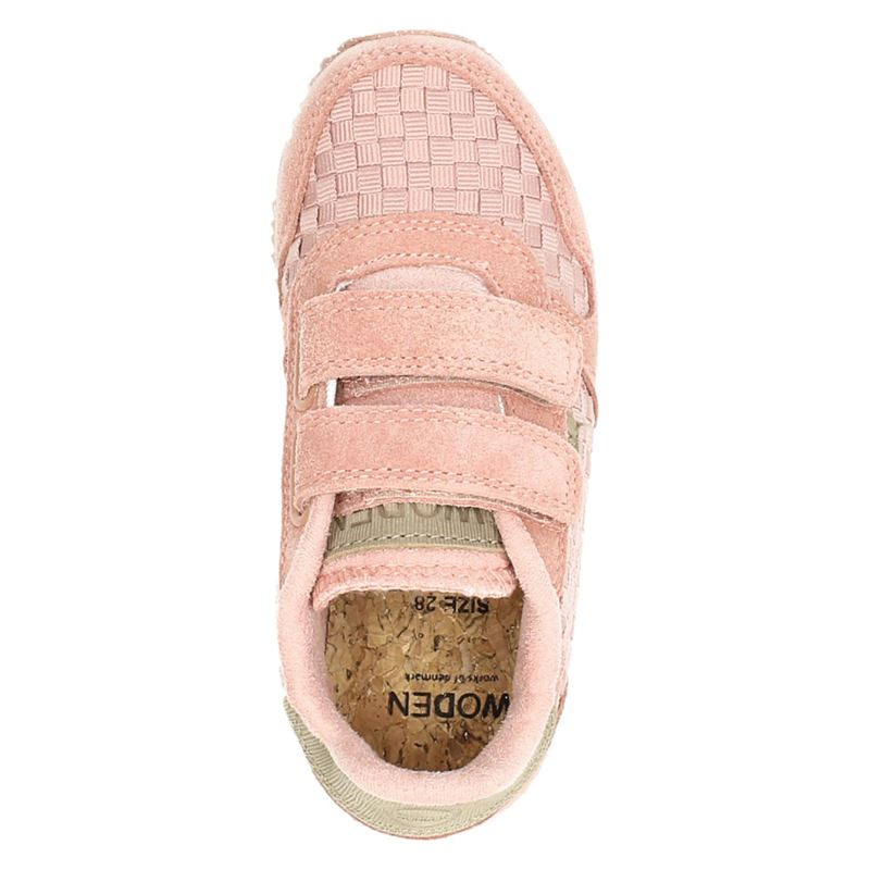 Woden Wonder - Klittenbandschoenen - Roze