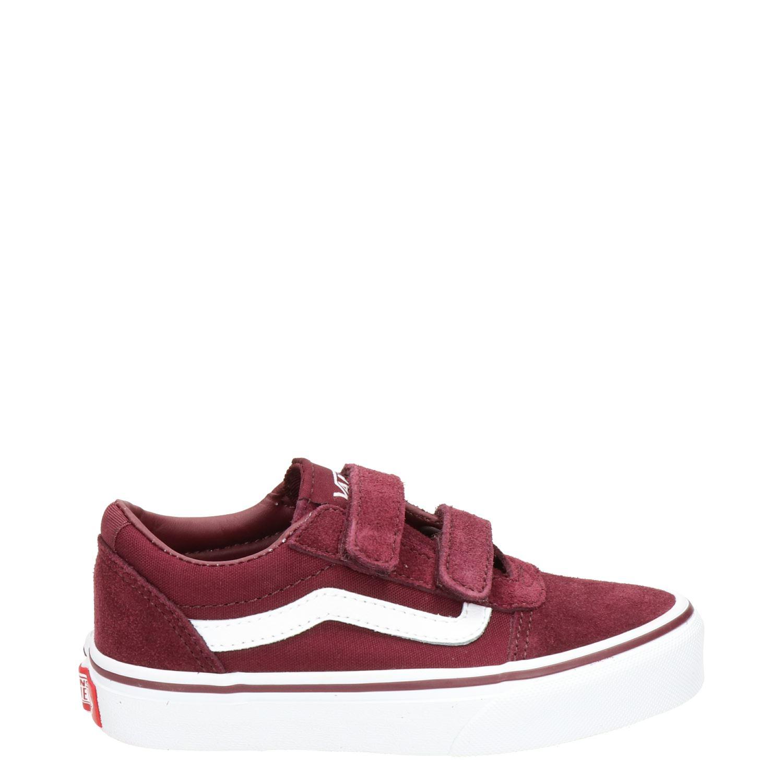 d7980e2ccf7 Vans Ward V jongens/meisjes lage sneakers rood