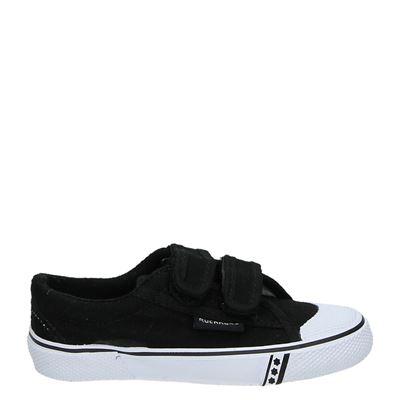 Rucanor jongens/meisjes sneakers zwart