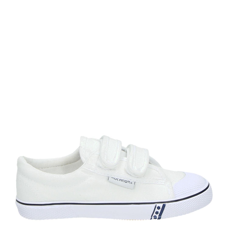 f3e90bada25 Rucanor Frankfurt Gymschoen jongens/meisjes lage sneakers wit