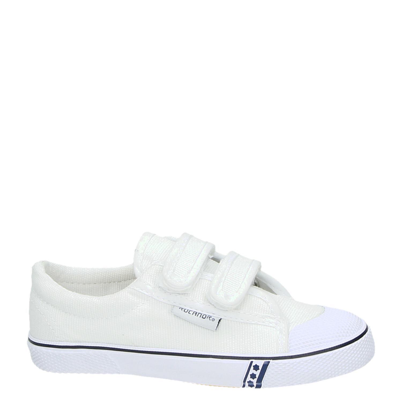 248bf25c4a9f48 Rucanor Frankfurt Gymschoen jongens/meisjes lage sneakers wit