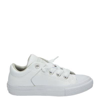Converse jongens/meisjes lage sneakers wit