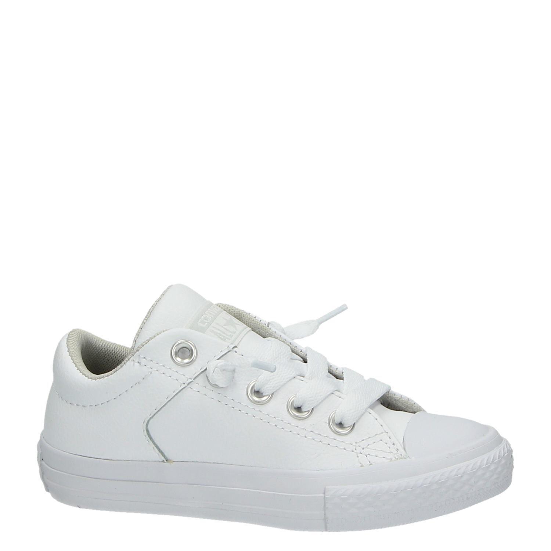 2a4b2d359ee Converse All Star jongens/meisjes lage sneakers wit