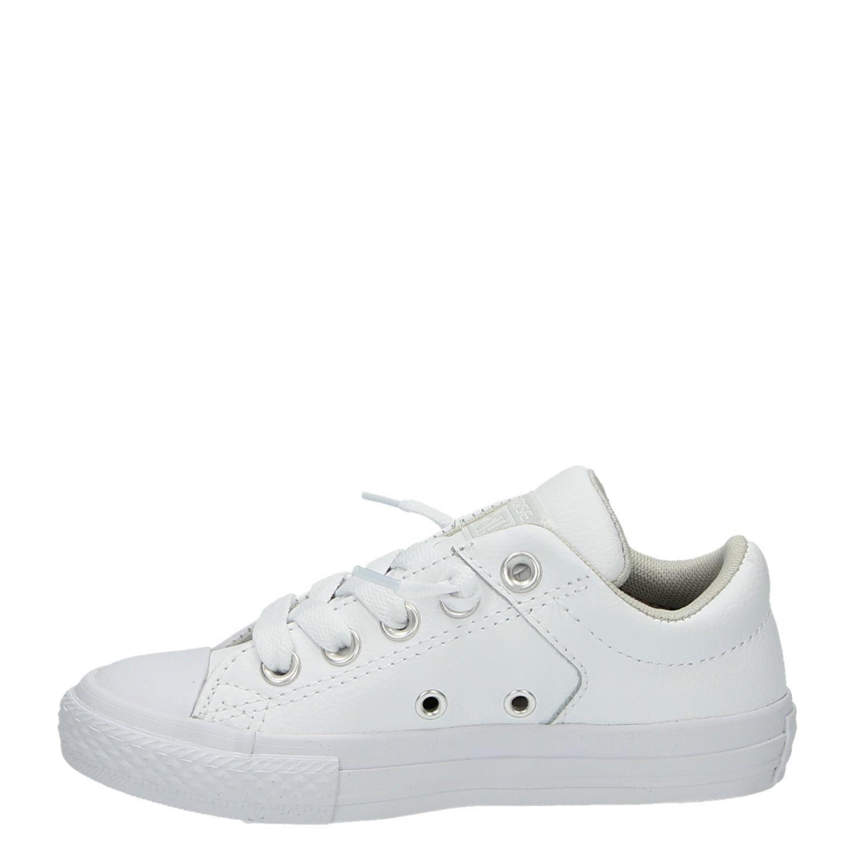 cb7f95e7d1b Converse All Star jongens/meisjes lage sneakers wit