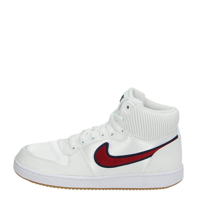 86f1149971f Nike Ebernon Mid jongens/meisjes hoge sneakers wit