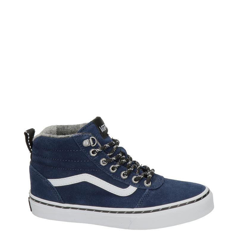 Vans Ward Hi - Hoge sneakers - Blauw