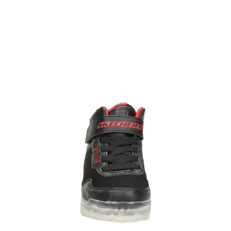 Skechers Ice Lights - Klittenbandschoenen - Zwart