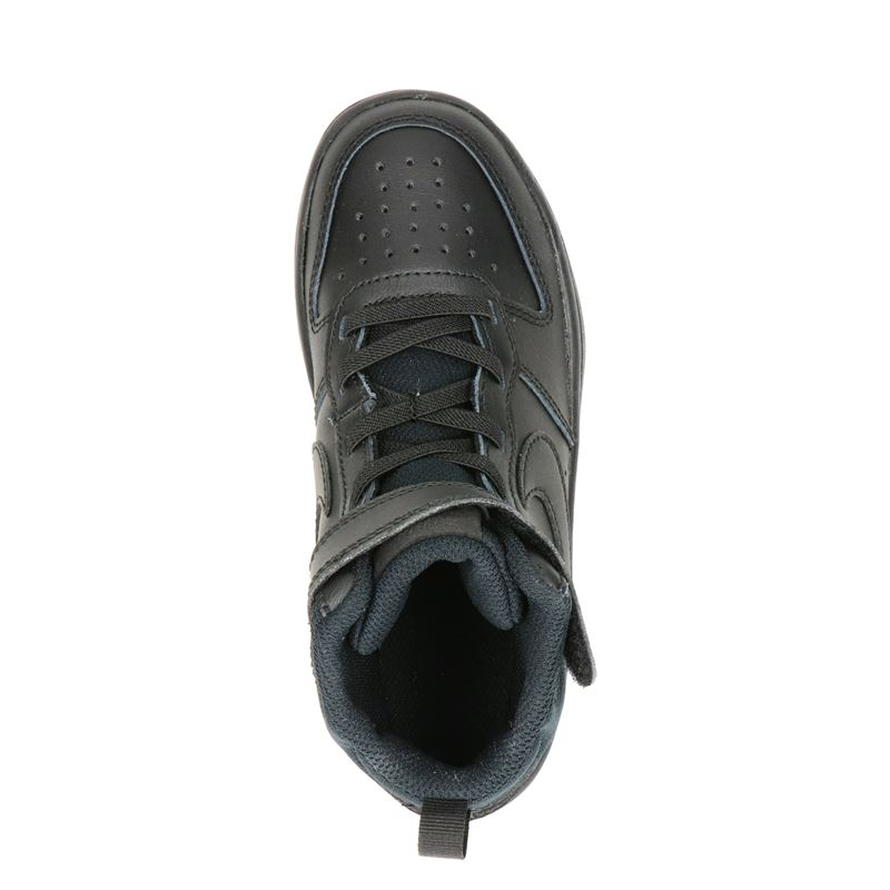 Nike Court Borough - Hoge sneakers - Zwart