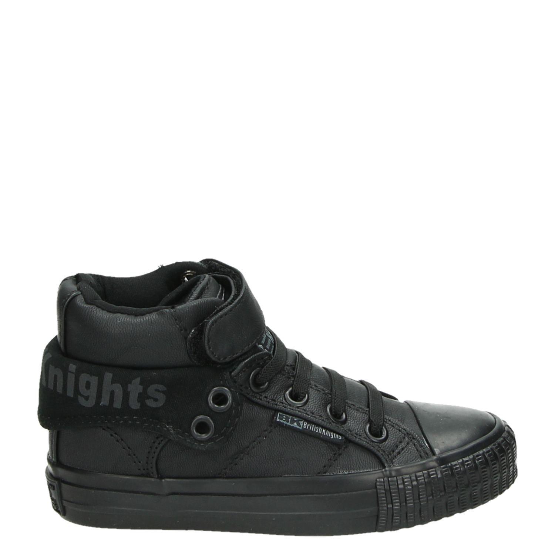 Chevaliers Britanniques Chaussures Noires Avec Entrée Pour Femmes EcR7356m
