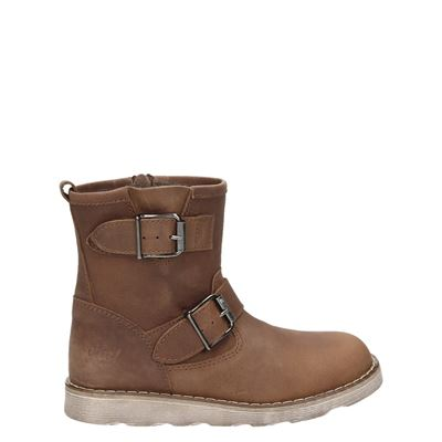 Clic! jongens/meisjes laarsjes & boots cognac