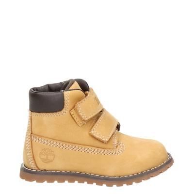 Timberland jongens/meisjes klittenbandschoenen geel