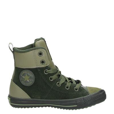 Converse jongens/meisjes laarsjes & boots groen