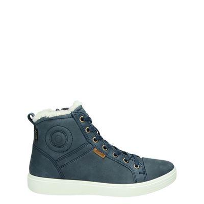 Ecco jongens/meisjes laarsjes & boots blauw