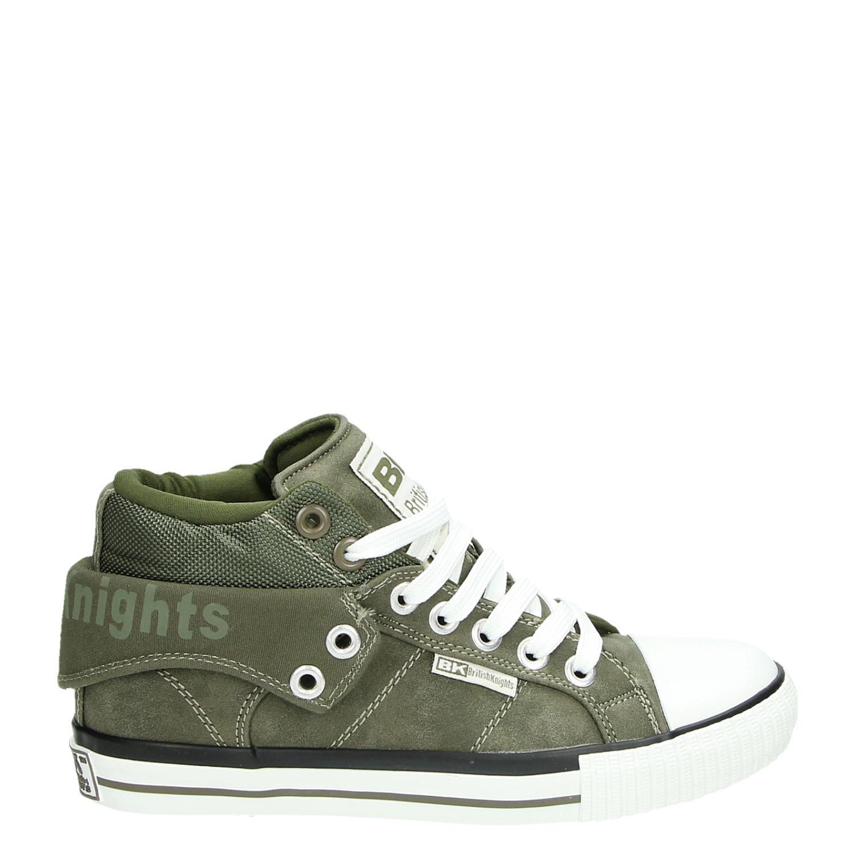 Chevaliers Britanniques Chaussures Vert Pour Les Hommes V02XW9