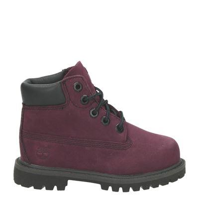 Timberland jongens/meisjes laarsjes & boots rood