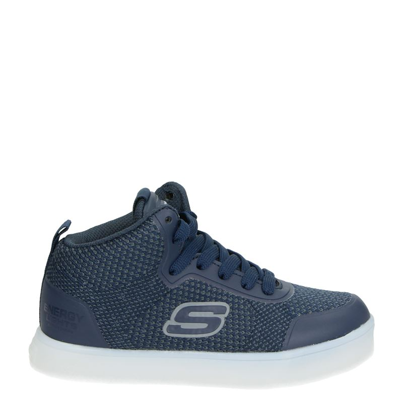 Skechers Energy Lights - Hoge sneakers - Blauw