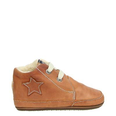 Shoesme jongens/meisjes babyschoenen cognac