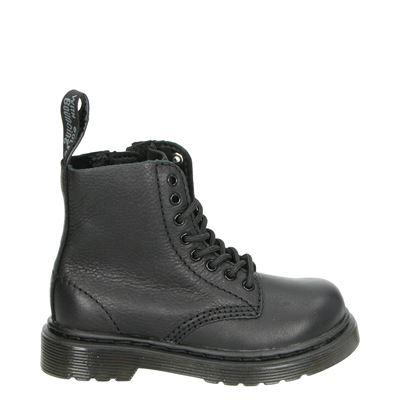 Dr. Martens jongens/meisjes laarsjes & boots zwart