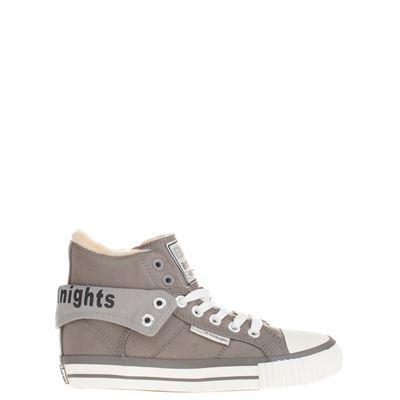 British Knights jongens/meisjes hoge sneakers grijs