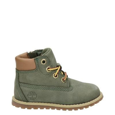 Timberland jongens/meisjes laarsjes & boots kaki