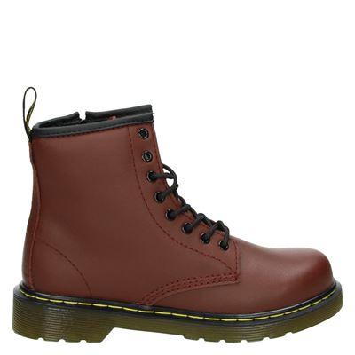 Dr. Martens jongens/meisjes laarsjes & boots rood