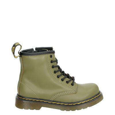 Dr. Martens jongens/meisjes laarsjes & boots kaki