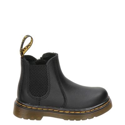Dr. Martens jongens/meisjes rits- & gesloten boots zwart