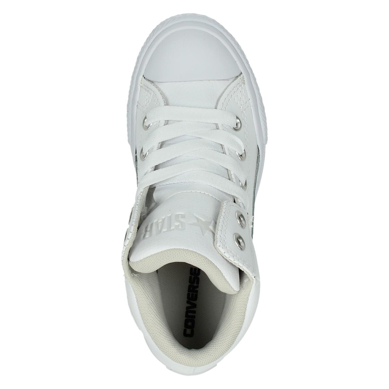 c6d07211b80 Converse jongens/meisjes hoge sneakers wit