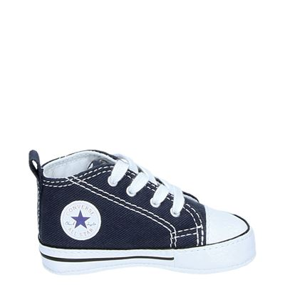 Converse jongens/meisjes sneakers blauw