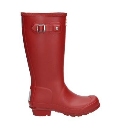 Hunter jongens/meisjes regenlaarzen rood