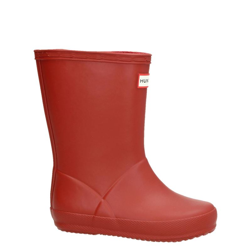 Hunter Original Kids First Classic Wellington - Regenlaarzen - Rood