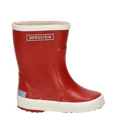 Bergstein jongens/meisjes regenlaarzen rood
