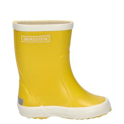 Bergstein jongens/meisjes regenlaarzen geel