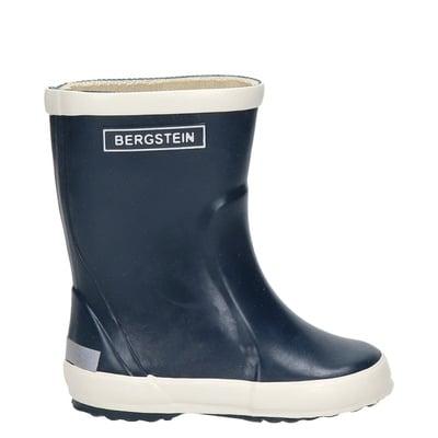 Bergstein jongens/meisjes regenlaarzen blauw