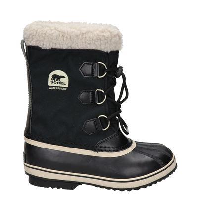 Sorel jongens/meisjes snowboots zwart